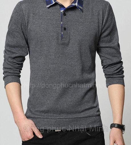 Nhật Minh - Đồng phục áo thun dài tay -10