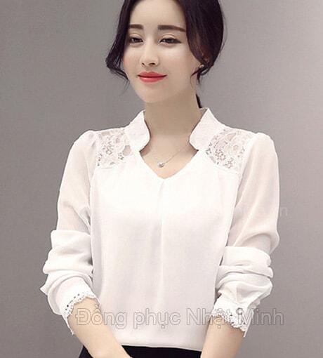 Nhật Minh - Đồng phục áo sơ mi nữ -12