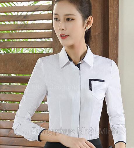 Nhật Minh - Đồng phục áo sơ mi nữ -16