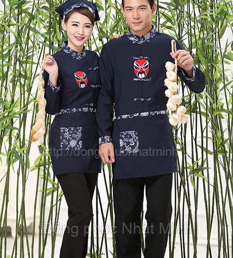 Nhạt Minh - Đồng phục nhà hàng Trung Quốc
