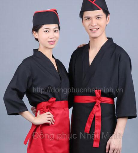 Nhật Minh - Đồng phục nhà hàng nhật -18