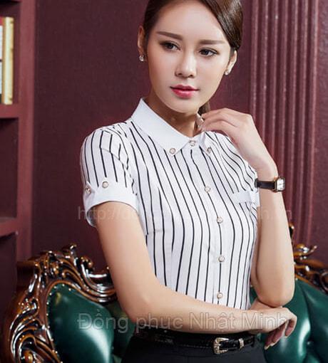Nhật Minh - Đồng phục áo sơ mi nữ -20
