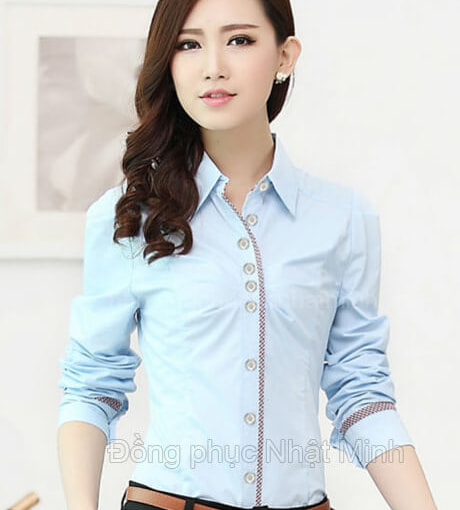 Nhật Minh - Đồng phục áo sơ mi nữ -23