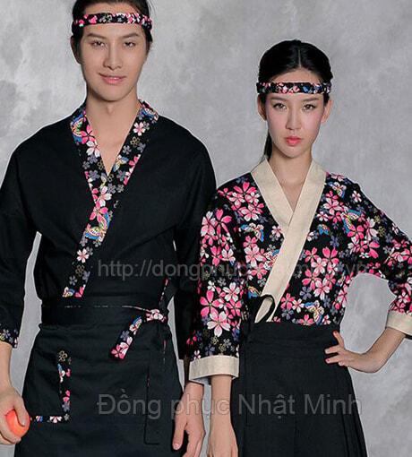 Nhật Minh - Đồng phục nhà hàng nhật -24