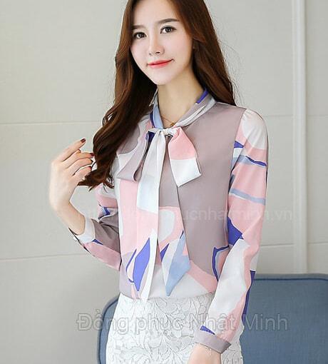 Nhật Minh - Đồng phục áo sơ mi nữ -24