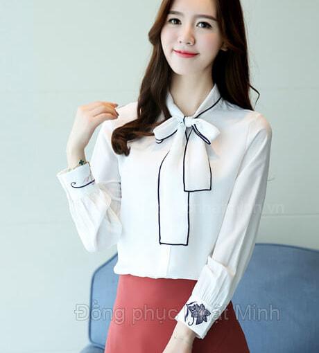 Nhật Minh - Đồng phục áo sơ mi nữ -25