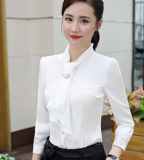 Nhật Minh - Đồng phục áo sơ mi nữ -26