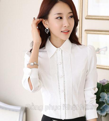 Nhật Minh - Đồng phục áo sơ mi nữ -27