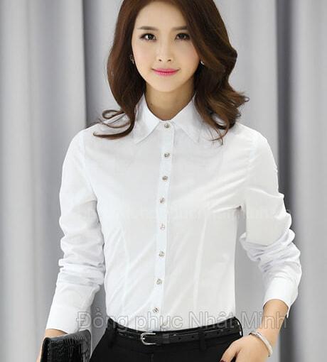 Nhật Minh - Đồng phục áo sơ mi nữ -29