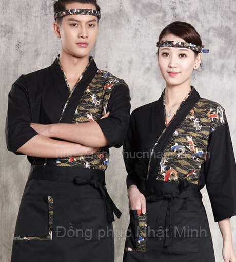 Nhật Minh - Đồng phục nhà hàng nhật -30