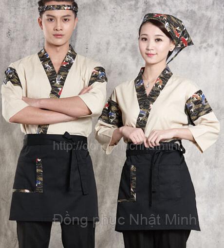 Nhật Minh - Đồng phục nhà hàng nhật -38