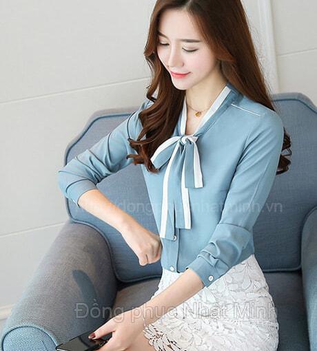 Nhật Minh - Đồng phục áo sơ mi nữ -38