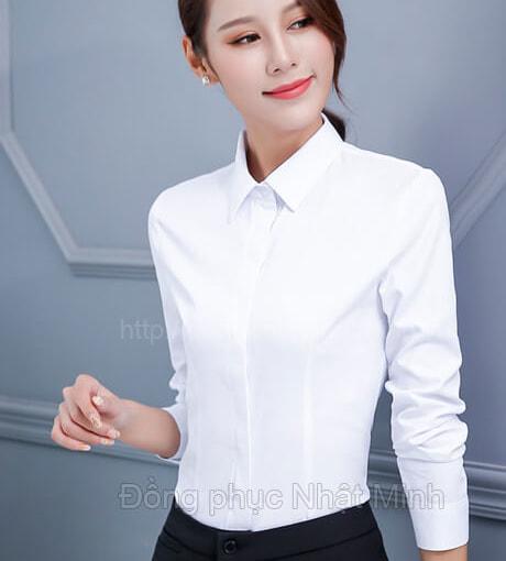 Nhật Minh - Đồng phục áo sơ mi nữ -39