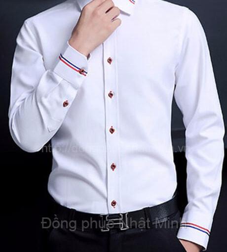 Nhật Minh - Đồng phục áo sơ mi nam 50A
