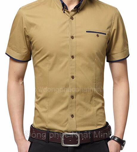 Nhật Minh - Đồng phục áo sơ mi nam 60D