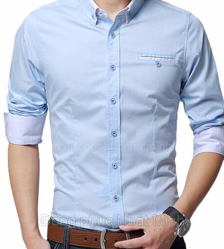 Nhật Minh - Đồng phục áo sơ mi nam 63