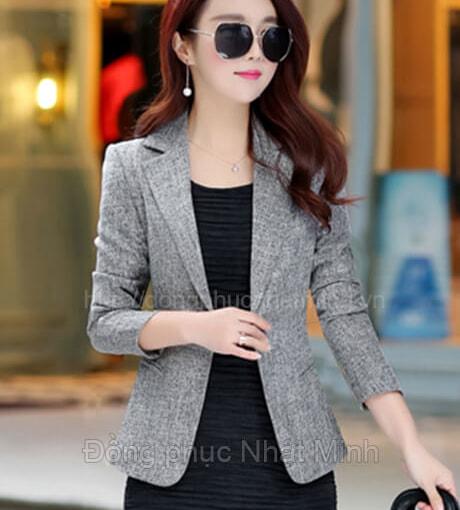 NHật Minh - Đồng phục vest nữ công sở - 06A