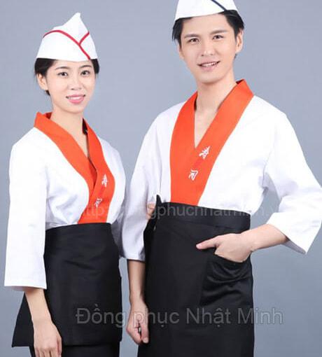 Nhật Minh - Đồng phục nhà hàng nhật -07