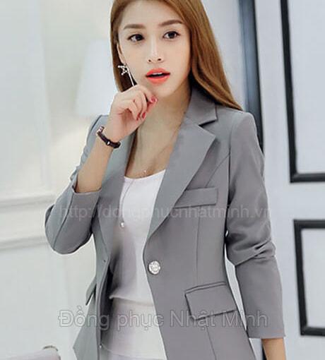 NHật Minh - Đồng phục vest nữ công sở - 09B