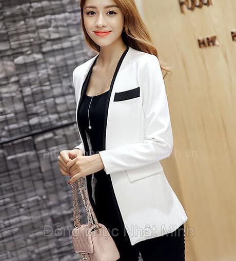 NHật Minh - Đồng phục vest nữ công sở - 09A