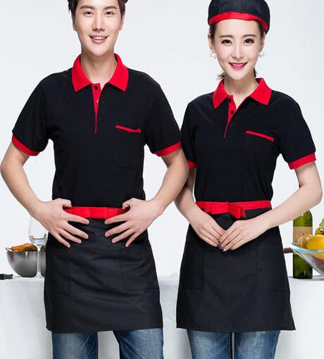 Đồng phục áo thun nhà hàng -01