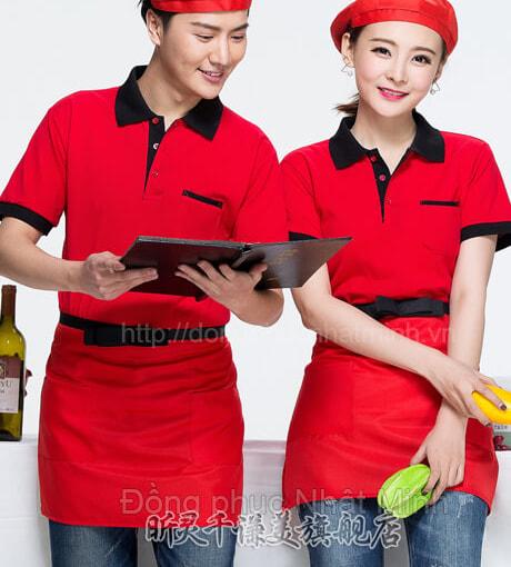 Đồng phục áo thun nhà hàng -02