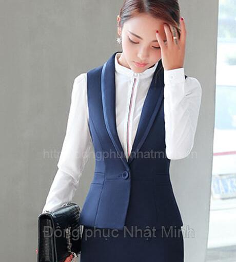Đồng phục gile nữ -20