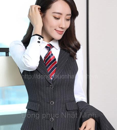 Đồng phục gile nữ -38