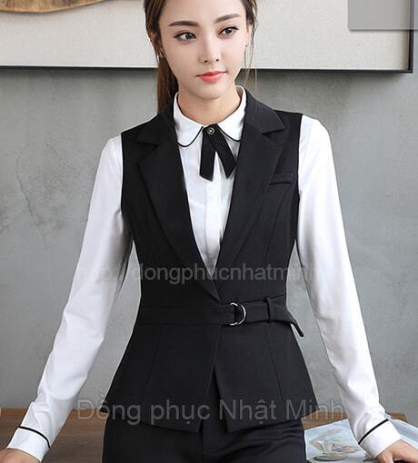 Đồng phục gile nữ -40