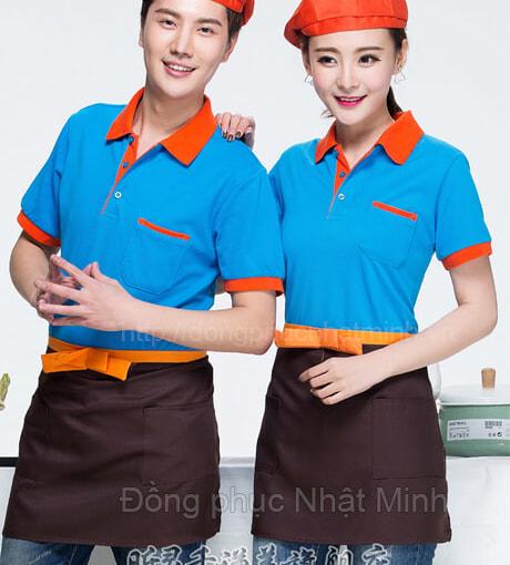 Đồng phục áo thun nhà hàng -07