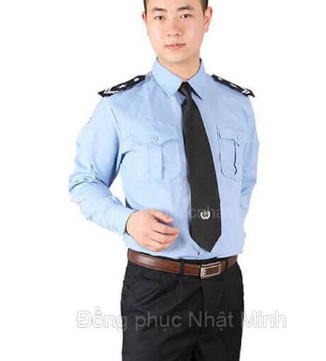 quần áo đồng phục bảo vệ Nhật Minh