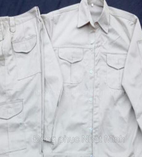 Áo ghi lê đồng phục bảo hộ lao động -05